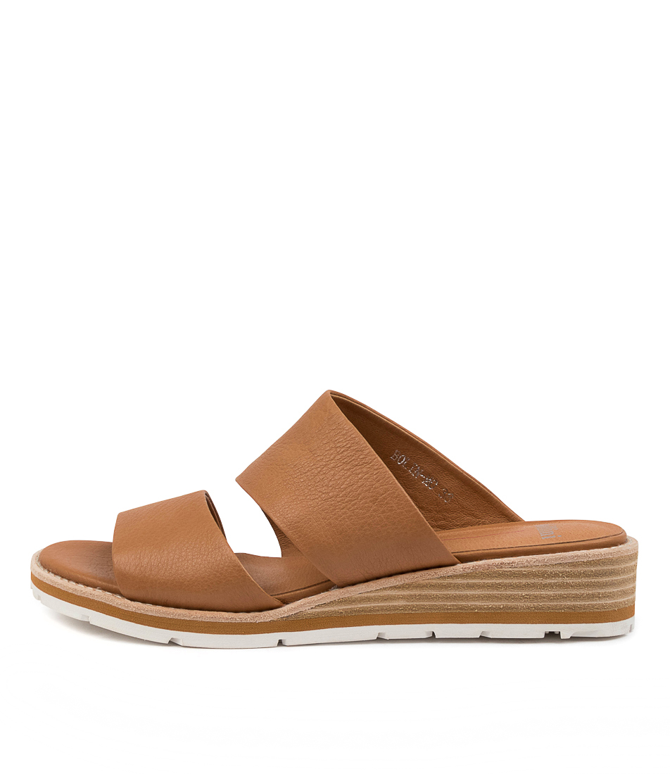 Buy Mollini Bolin Mo Dk Tan Heeled Sandals online with free shipping