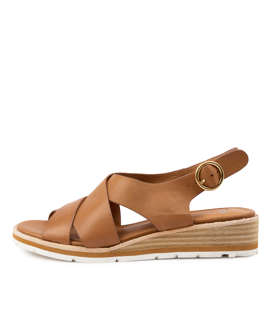 Buy Mollini Balar Mo Dk Tan Heeled Sandals online with free shipping