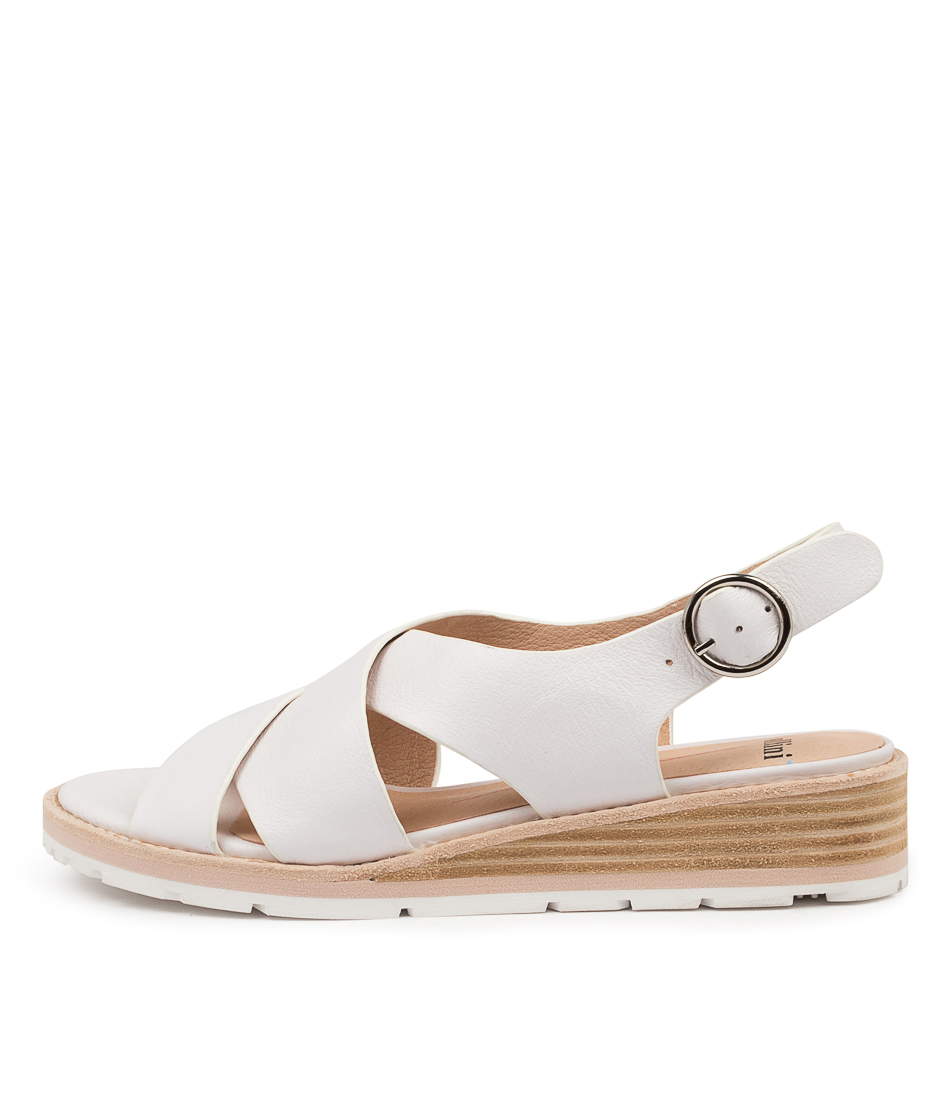 Buy Mollini Balar Mo White Heeled Sandals online with free shipping