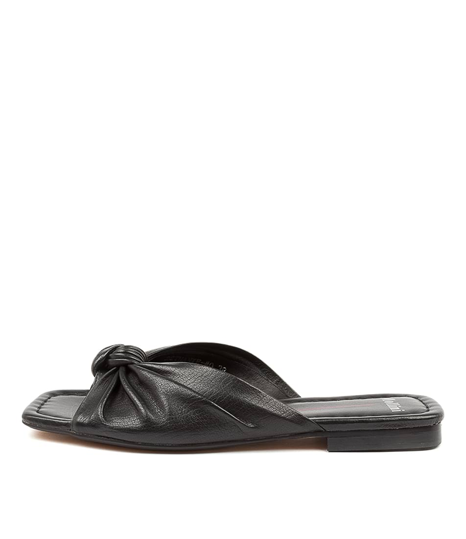 Buy Mollini Bethanie Mo Black Flat Sandals online with free shipping