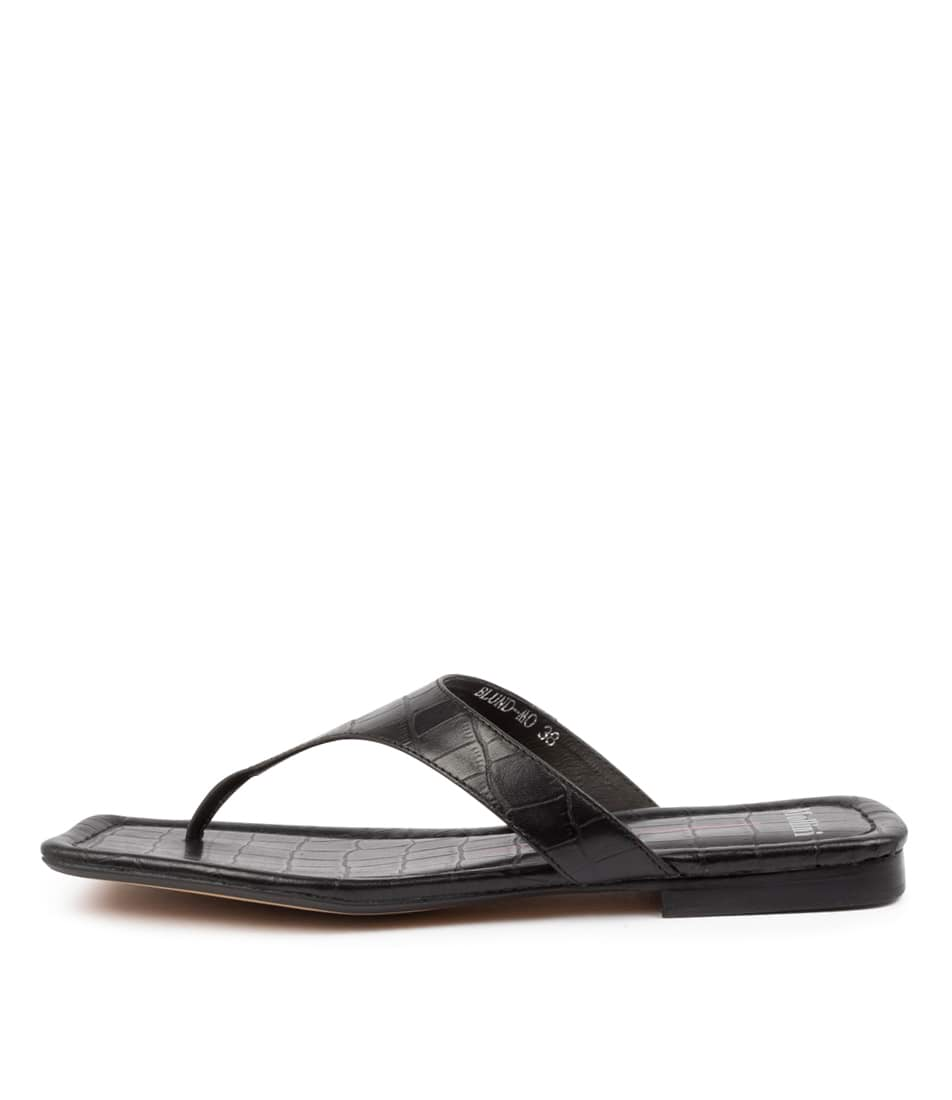 Buy Mollini Blund Mo Black Flat Sandals online with free shipping