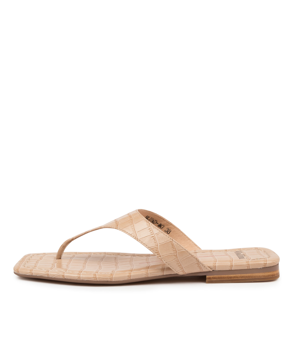 Buy Mollini Blund Mo Latte Flat Sandals online with free shipping