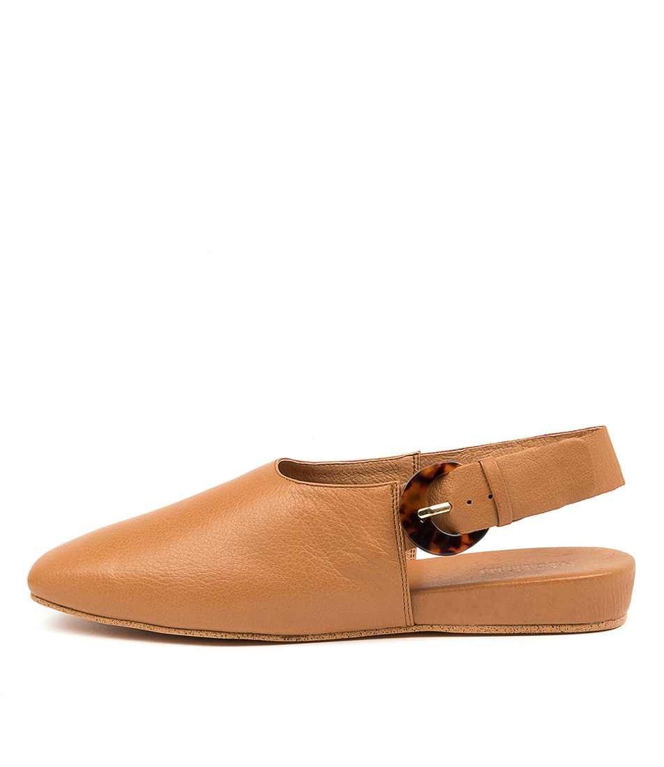Buy Mollini Dashay Mo Dk Tan Flats online with free shipping