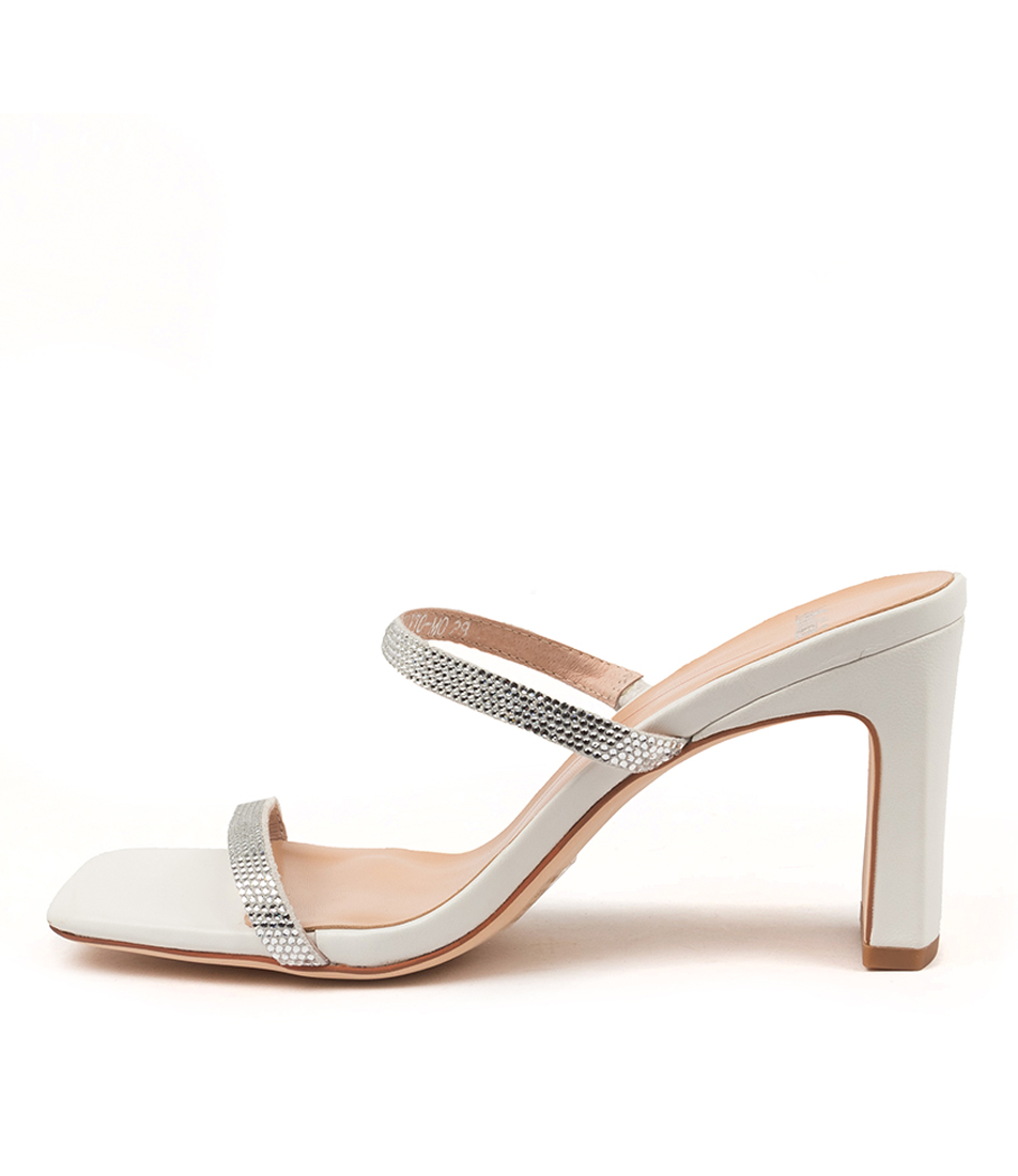 Buy Mollini Flyto Mo White Heeled Sandals online with free shipping