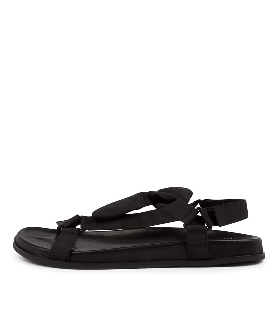 Buy Mollini Hutura Mo Black Flat Sandals online with free shipping