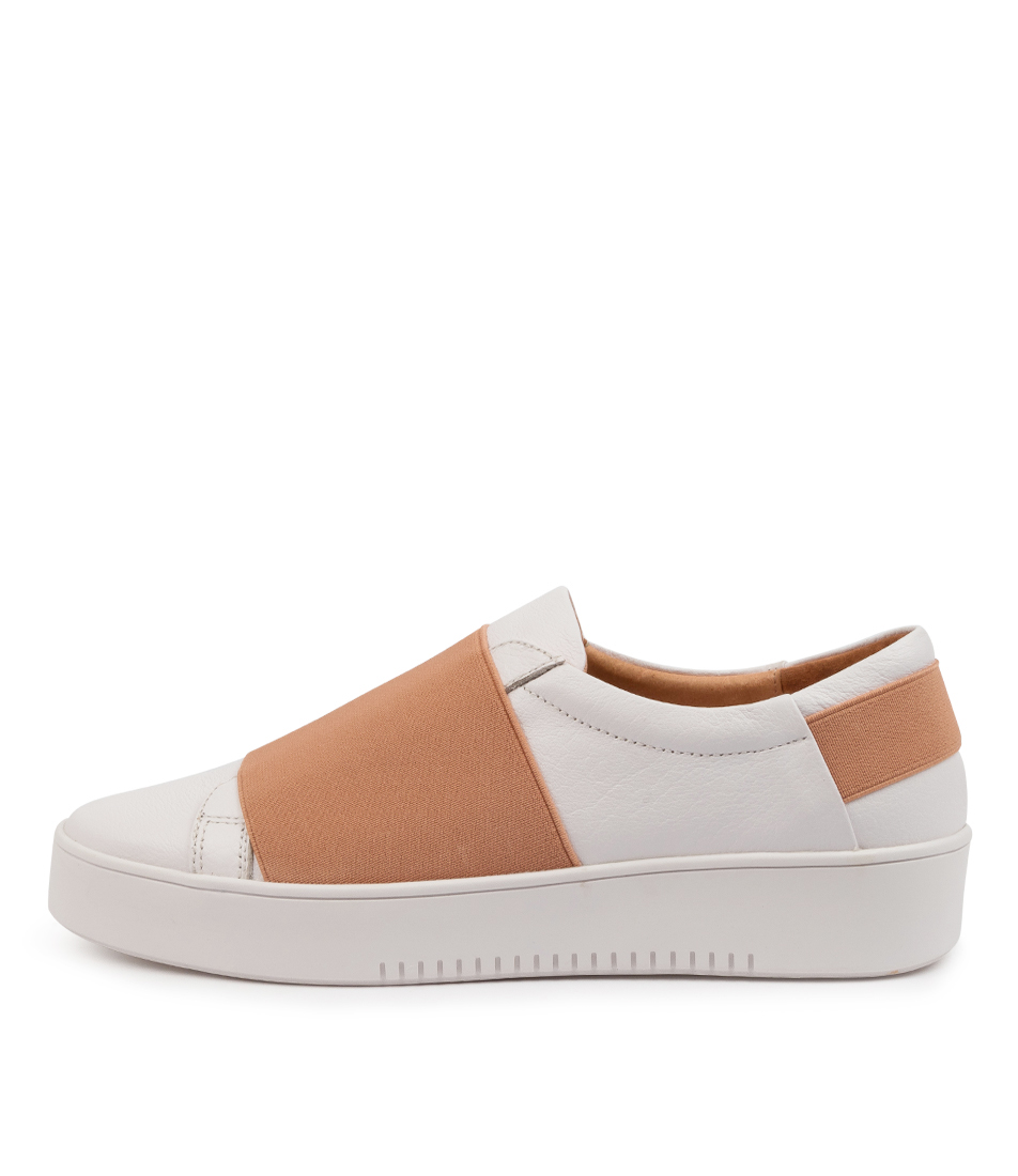 Buy Mollini Lastik Mo White Blush Sneakers online with free shipping