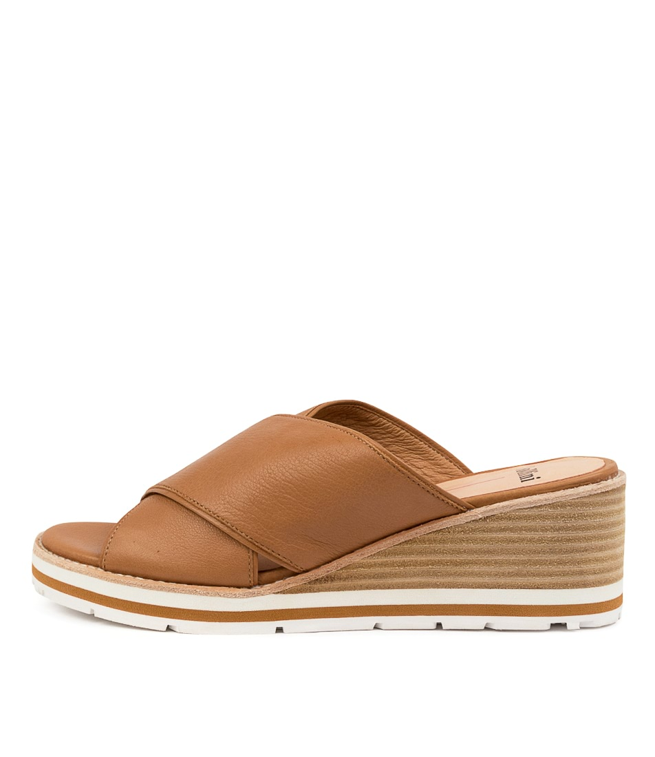 Buy Mollini Narat Mo Dk Tan Heeled Sandals online with free shipping