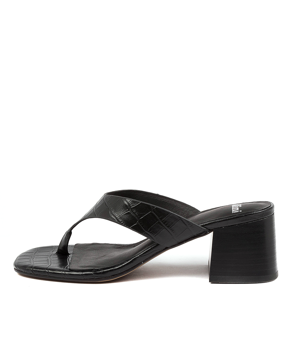 Buy Mollini Panilla Mo Black Heeled Sandals online with free shipping