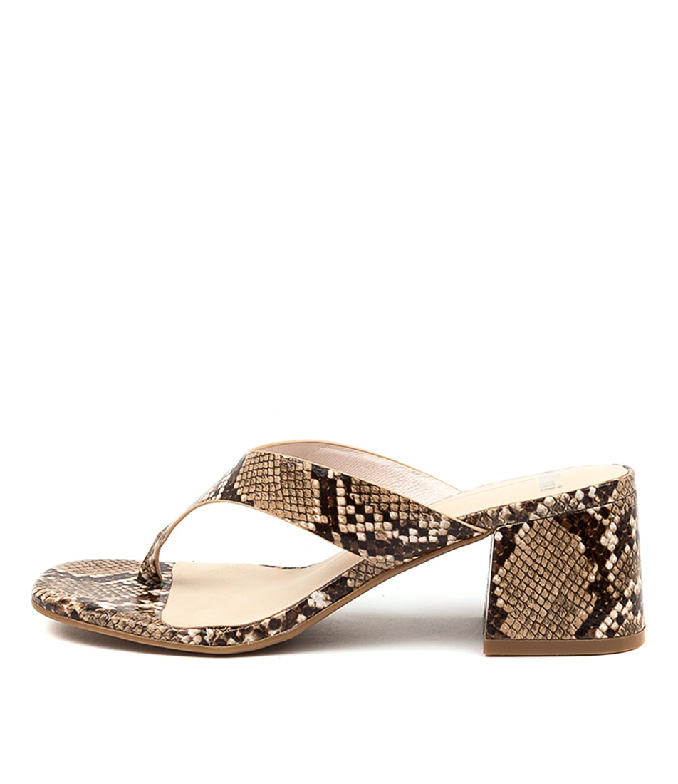Buy Mollini Panilla Mo Latte Heeled Sandals online with free shipping