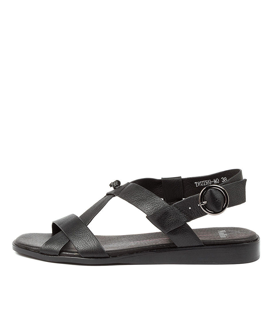 Buy Mollini Trutru Mo Black Heeled Sandals online with free shipping