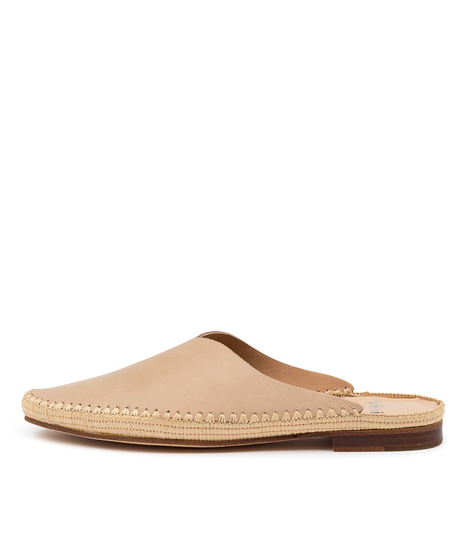 Buy Mollini Verry Mo Latte Natural Flats online with free shipping