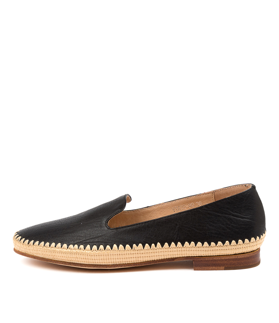 Buy Mollini Virdo Mo Black Natural Flats online with free shipping