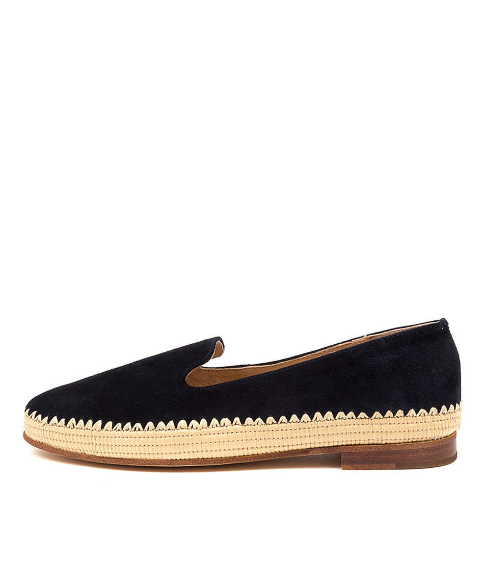 Buy Mollini Virdo Mo Navy Natural Flats online with free shipping