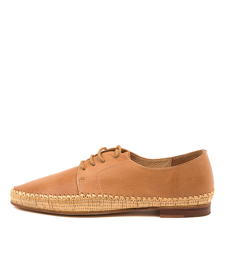 Buy Mollini Valmo Mo Dk Tan Tan Flats online with free shipping