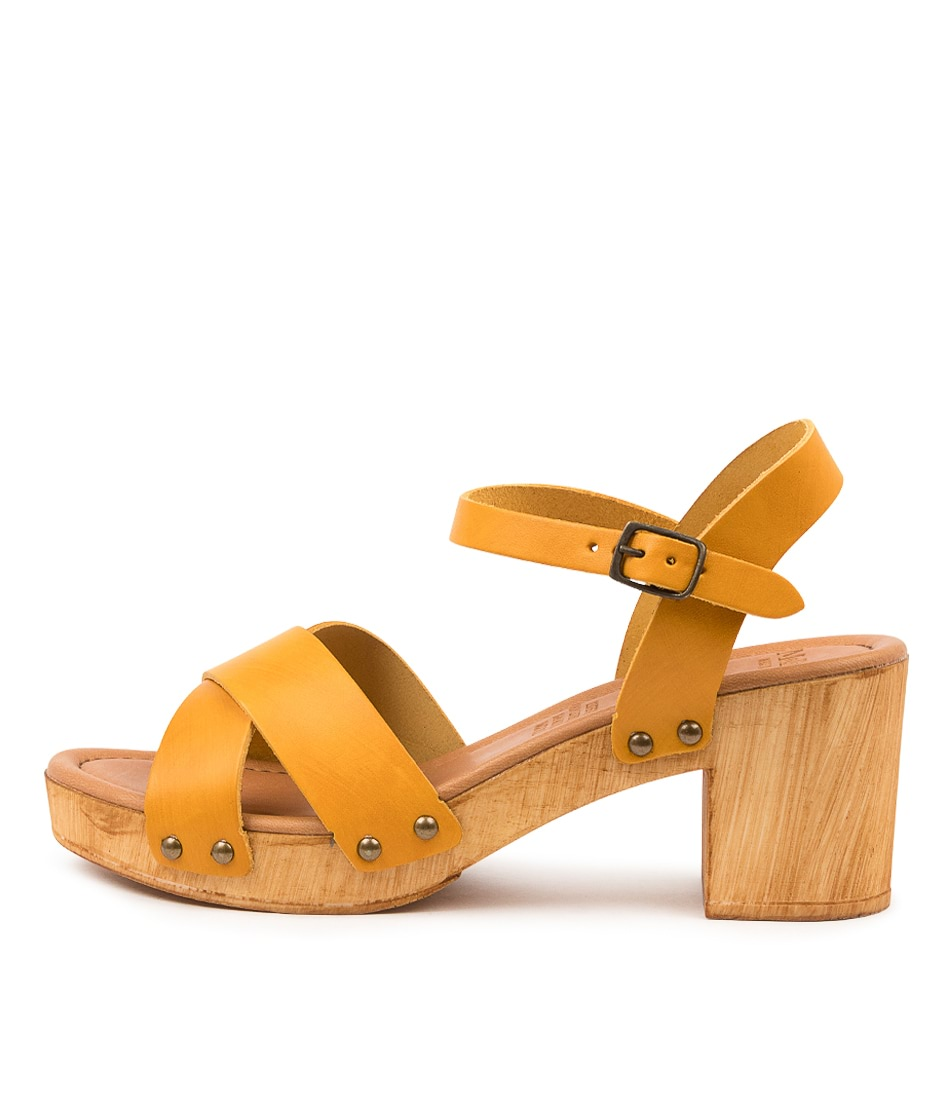Buy Mollini Byron Mo Yellow Heeled Sandals online with free shipping