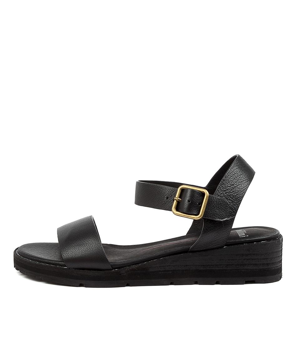 Buy Mollini Bamanda Mo Black Heeled Sandals online with free shipping