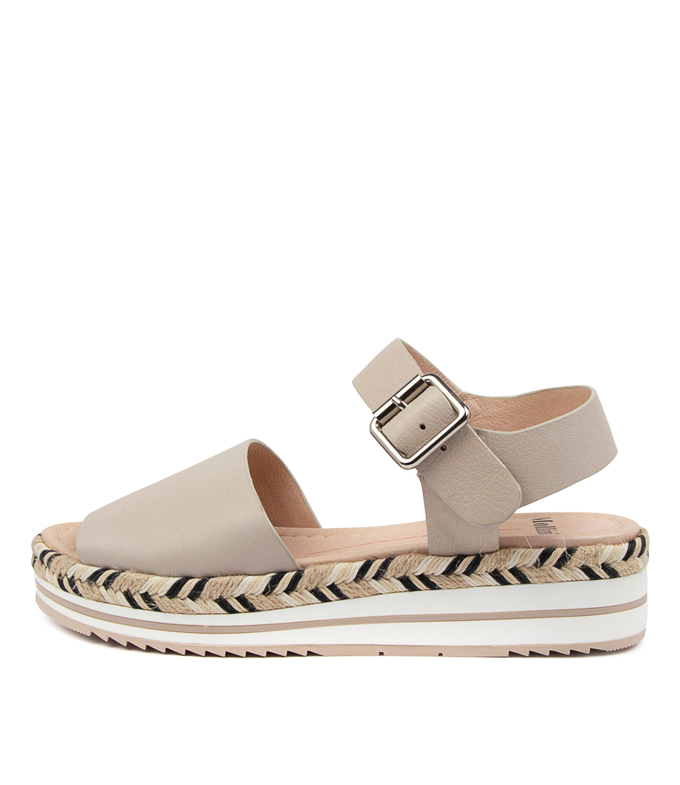 Buy Mollini Amil Djmo Nougat Flat Sandals online with free shipping