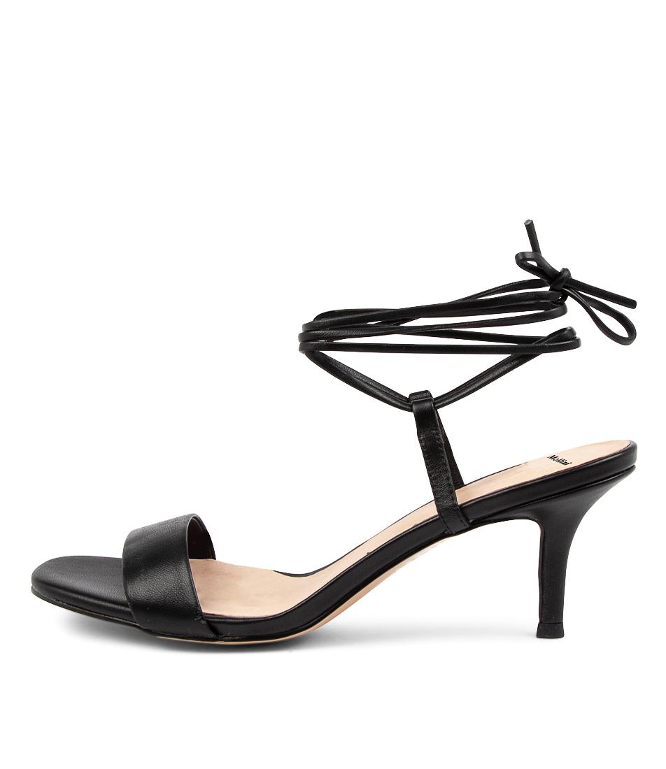 Buy Mollini Mandi Djmo Black Heeled Sandals online with free shipping
