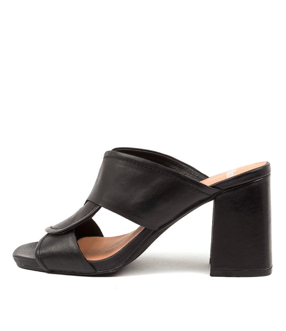 Buy Mollini Ryver Djmo Black Heeled Sandals online with free shipping