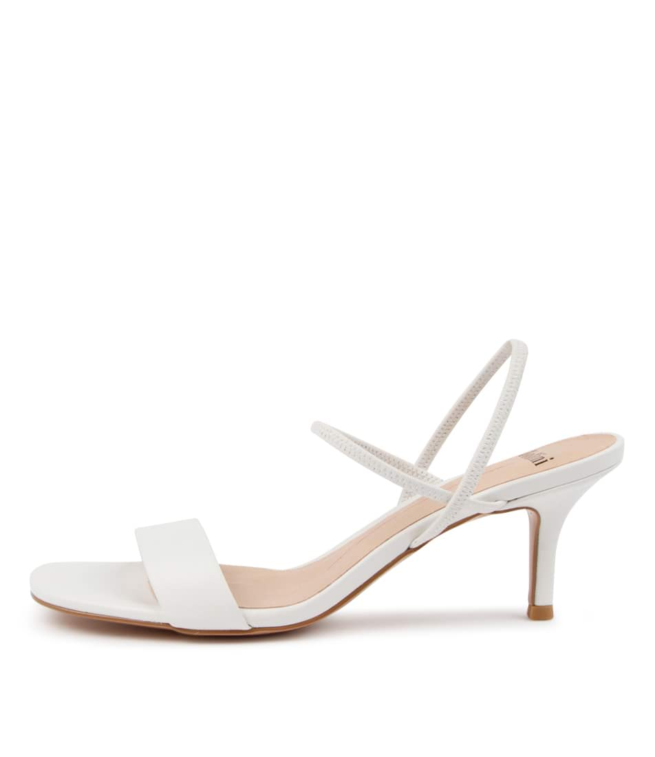 Buy Mollini Milah Djmo White Heeled Sandals online with free shipping