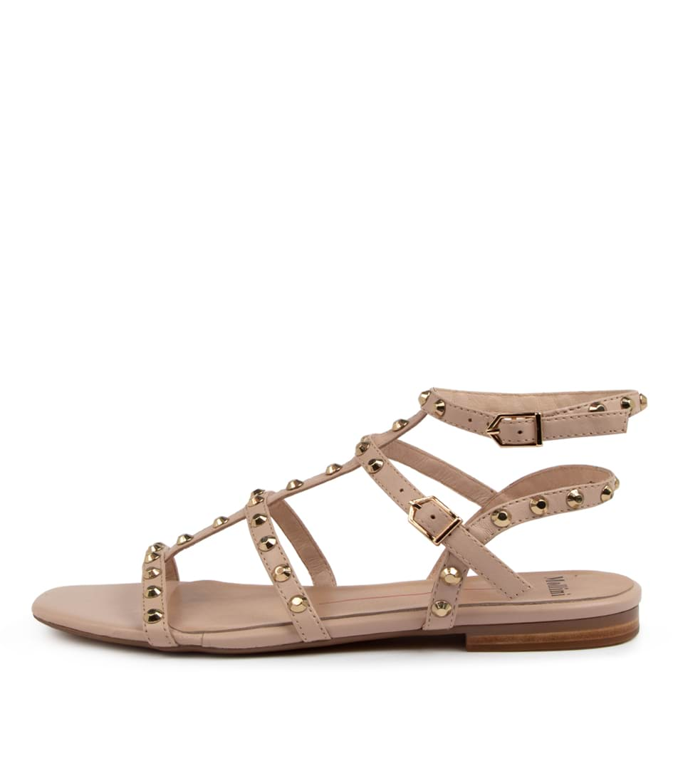 Buy Mollini Aglady Mo Nude Flat Sandals online with free shipping
