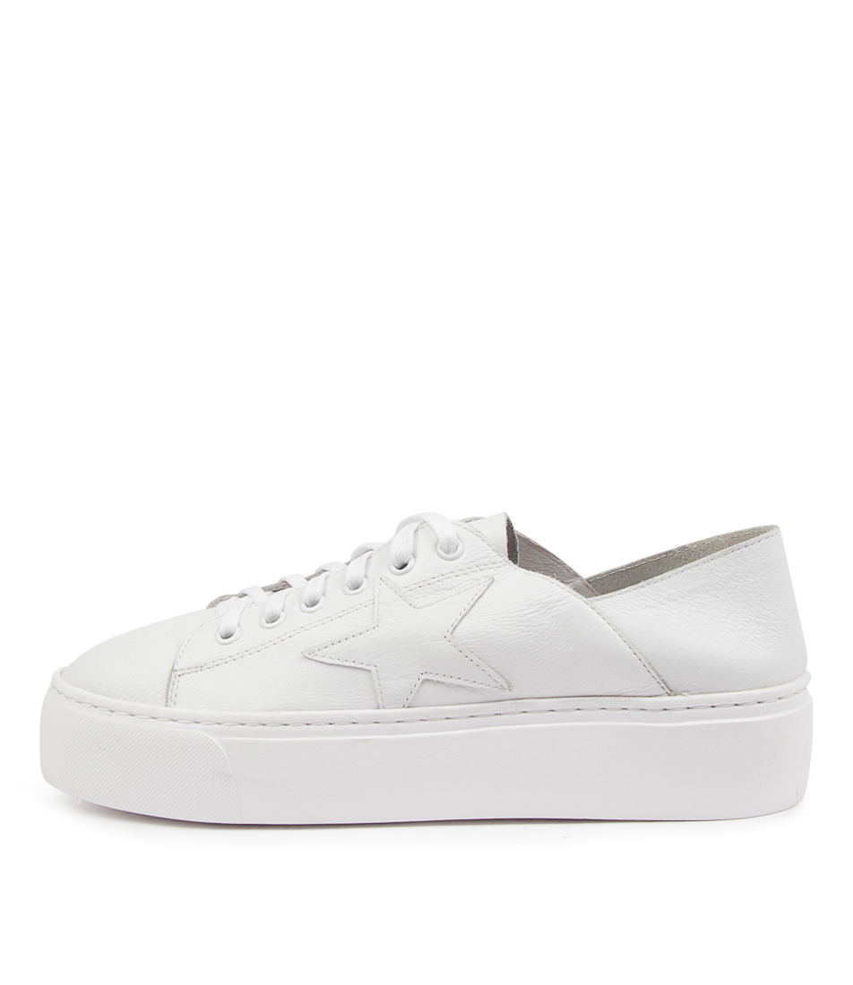 Buy Mollini Caliday Mo White Sneakers online with free shipping