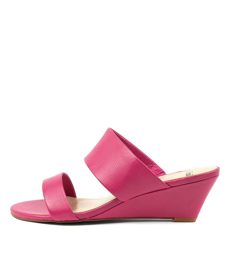 Buy Mollini Maris Mo Fuchsia Heeled Sandals online with free shipping