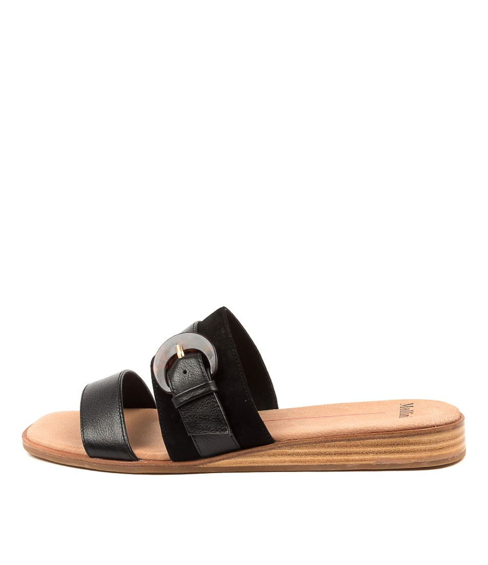 Buy Mollini Tarna Mo Black Mix Natural Heeled Sandals online with free shipping