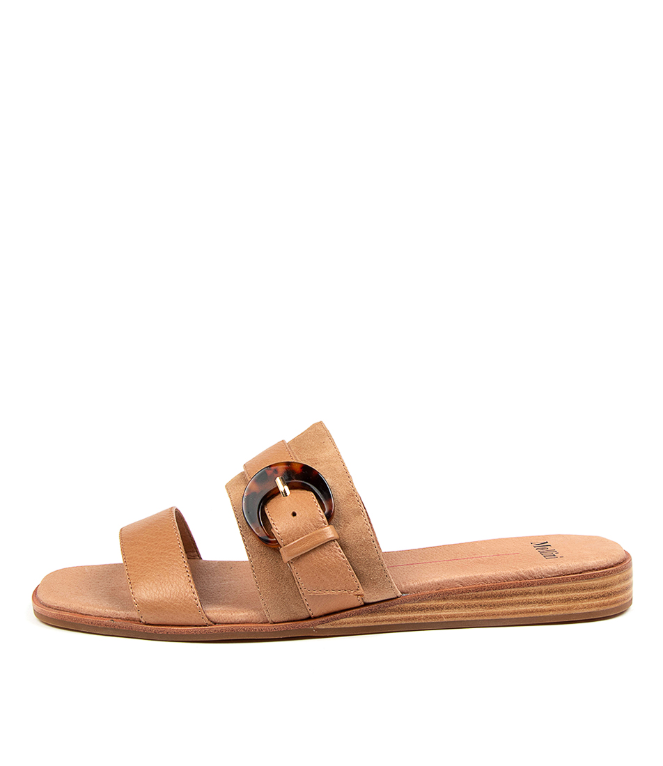 Buy Mollini Tarna Mo Camel Mix Heeled Sandals online with free shipping
