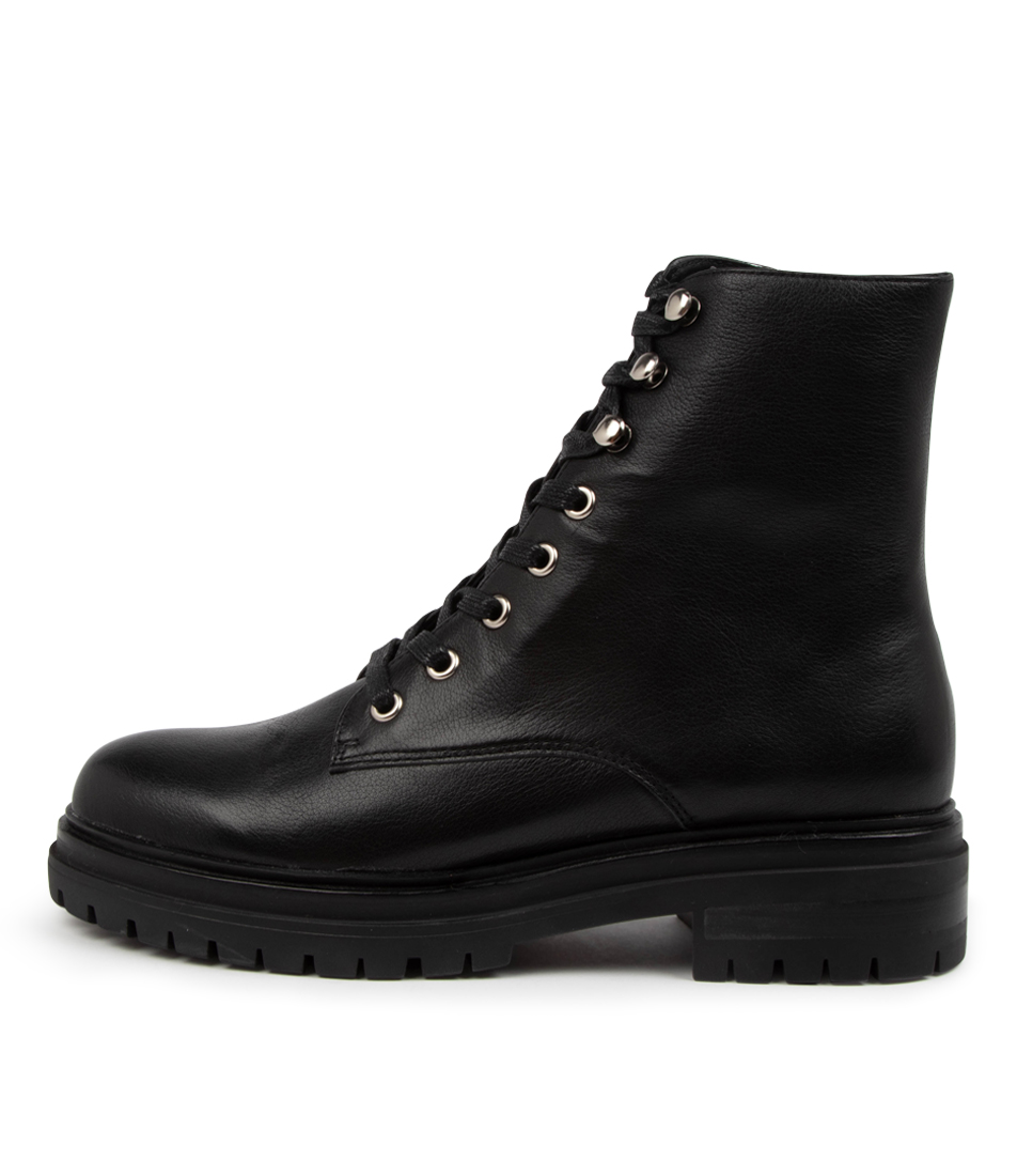 Buy Mollini Anew Mo Black Ankle Boots online with free shipping