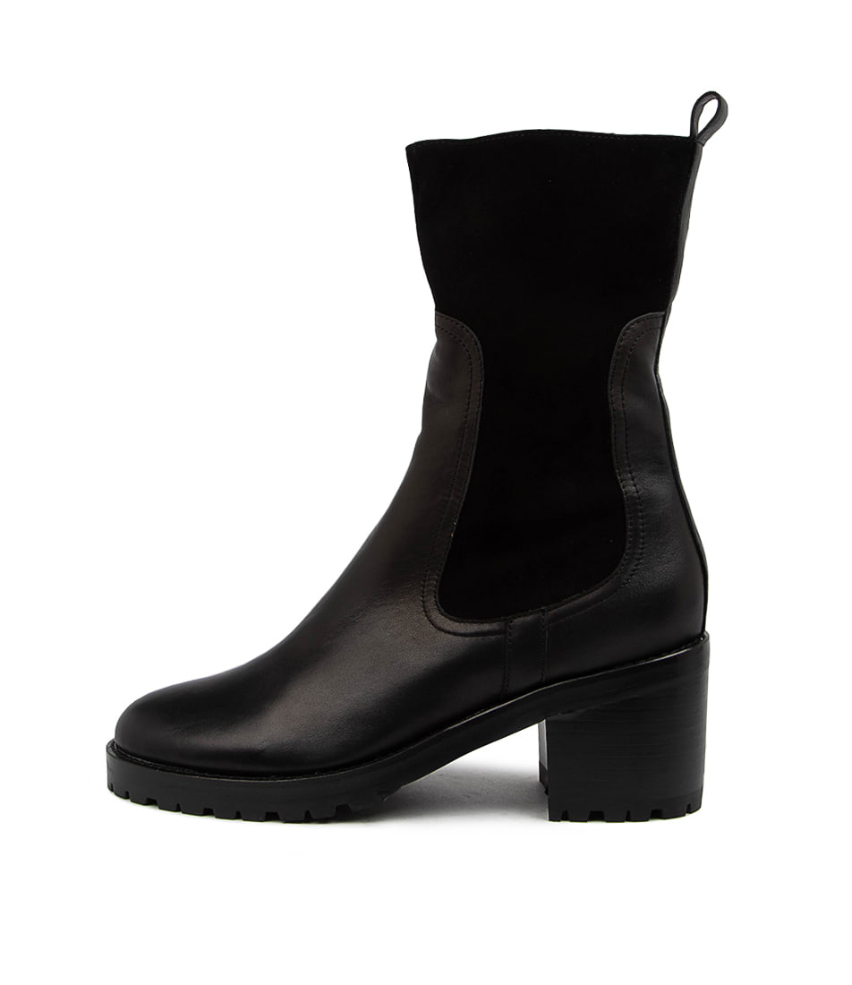 Buy Mollini Brink Mo Black Ankle Boots online with free shipping