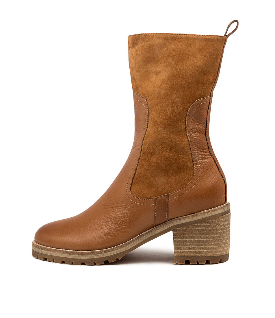 Buy Mollini Brink Mo Tan Ankle Boots online with free shipping
