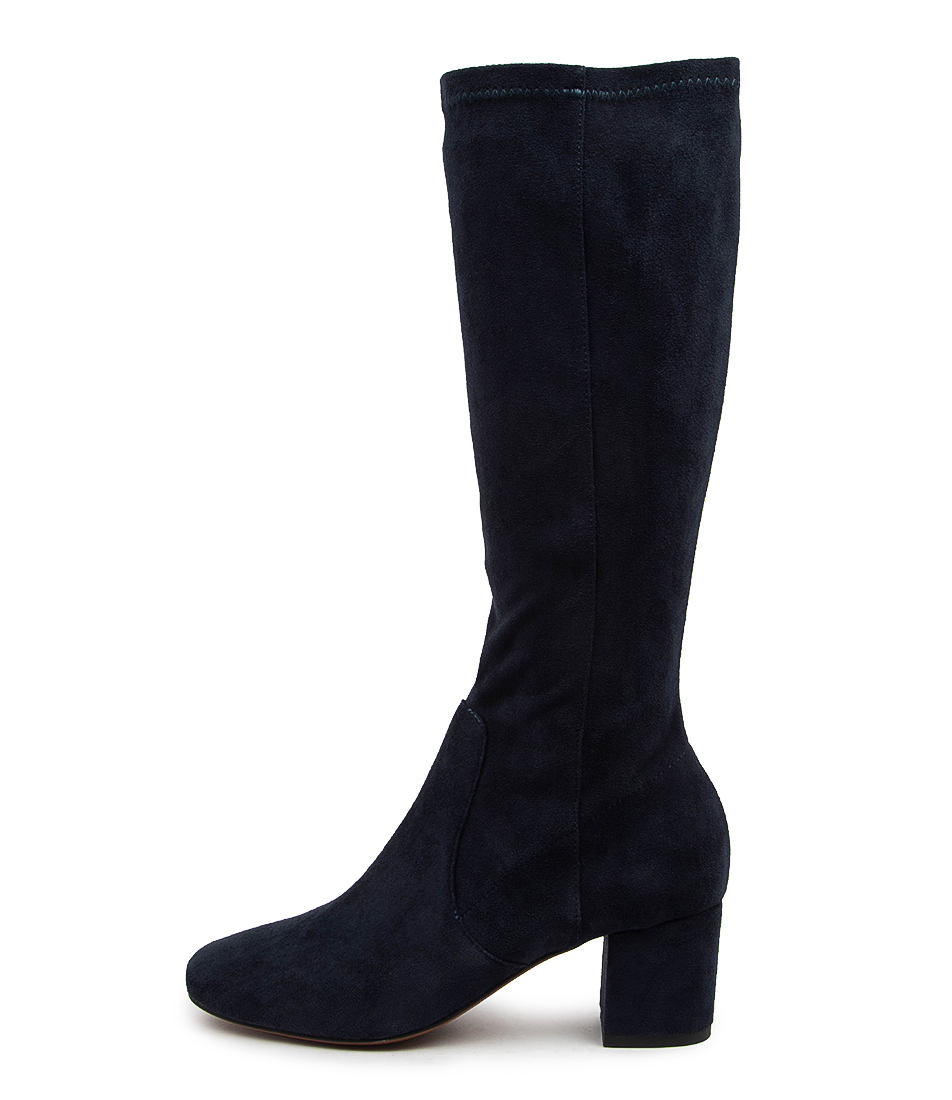 Buy Mollini Celam Mo Navy Long Boots online with free shipping