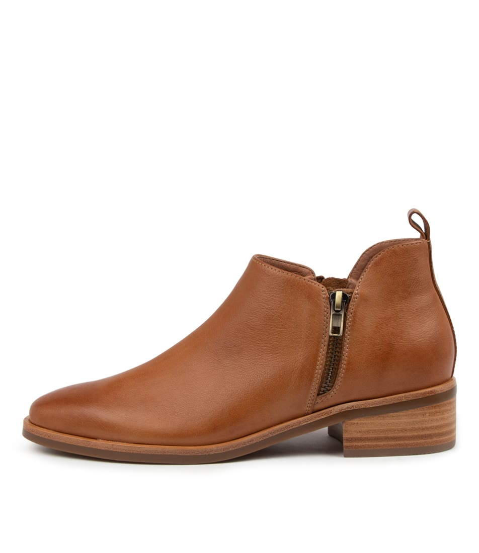 Buy Mollini Galore Mo Tan Ankle Boots online with free shipping