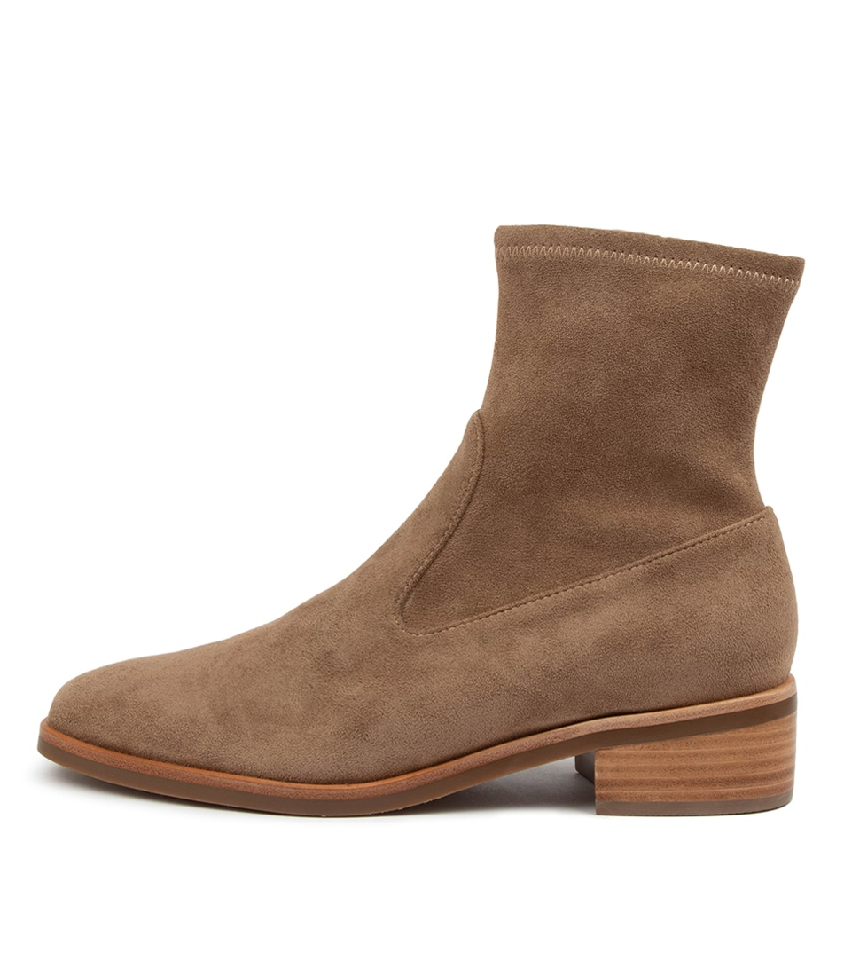 Buy Mollini Gargar Mo Taupe Ankle Boots online with free shipping
