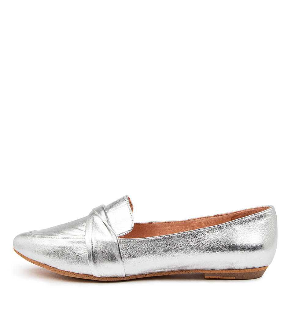 Buy Mollini Gazz Mo Silver Flats online with free shipping