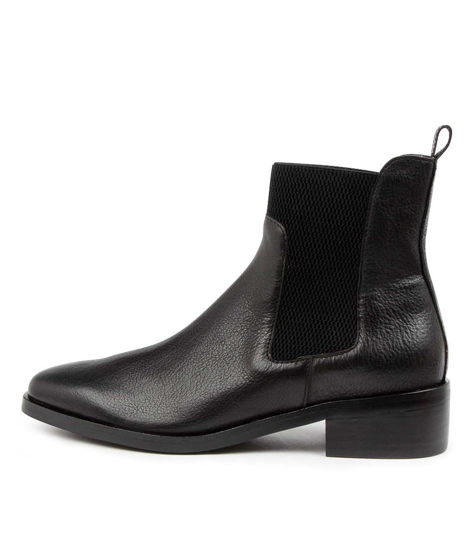 Buy Mollini Geetee Mo Black Ankle Boots online with free shipping