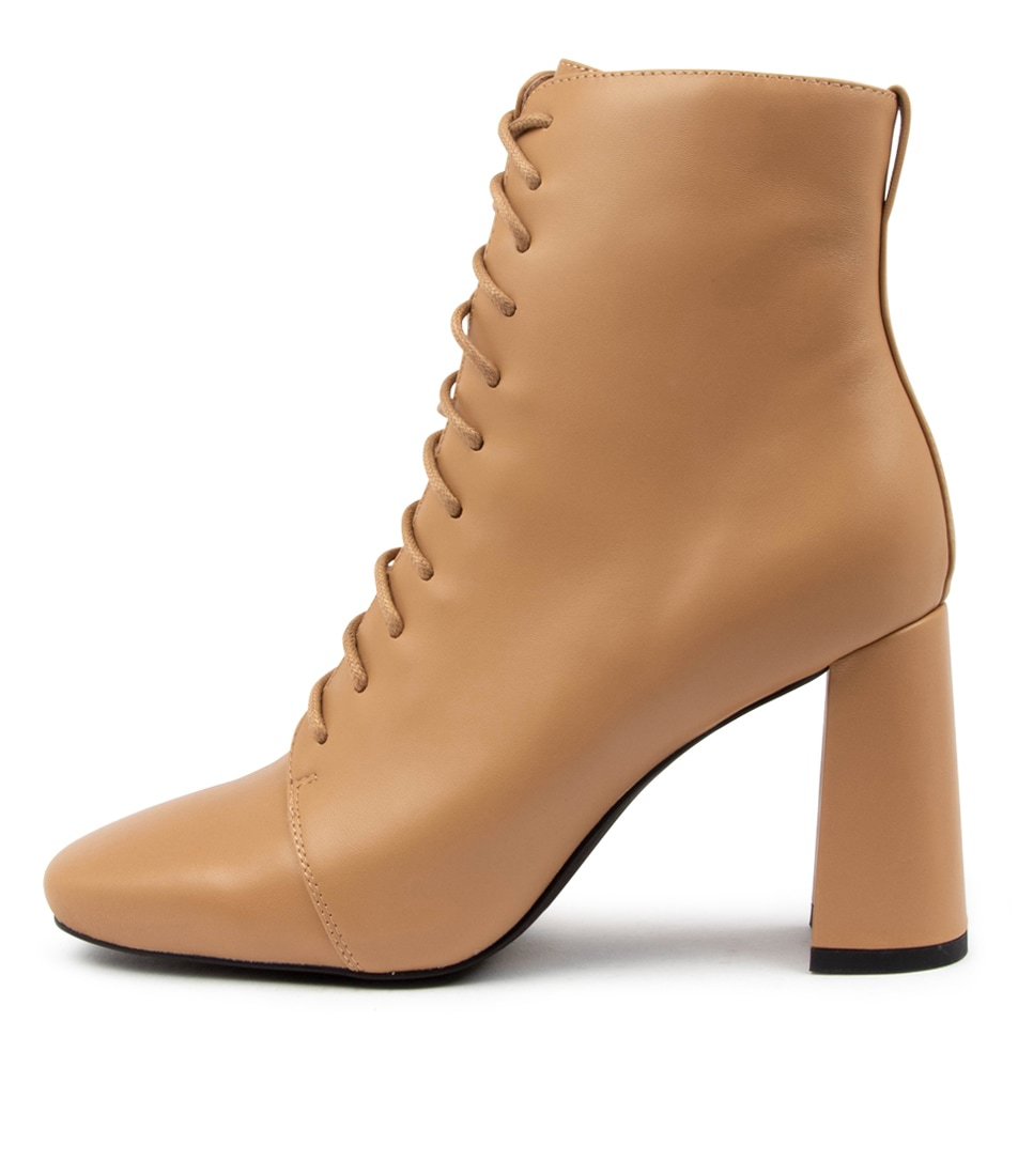 Buy Mollini Ileesha Mo Camel Ankle Boots online with free shipping