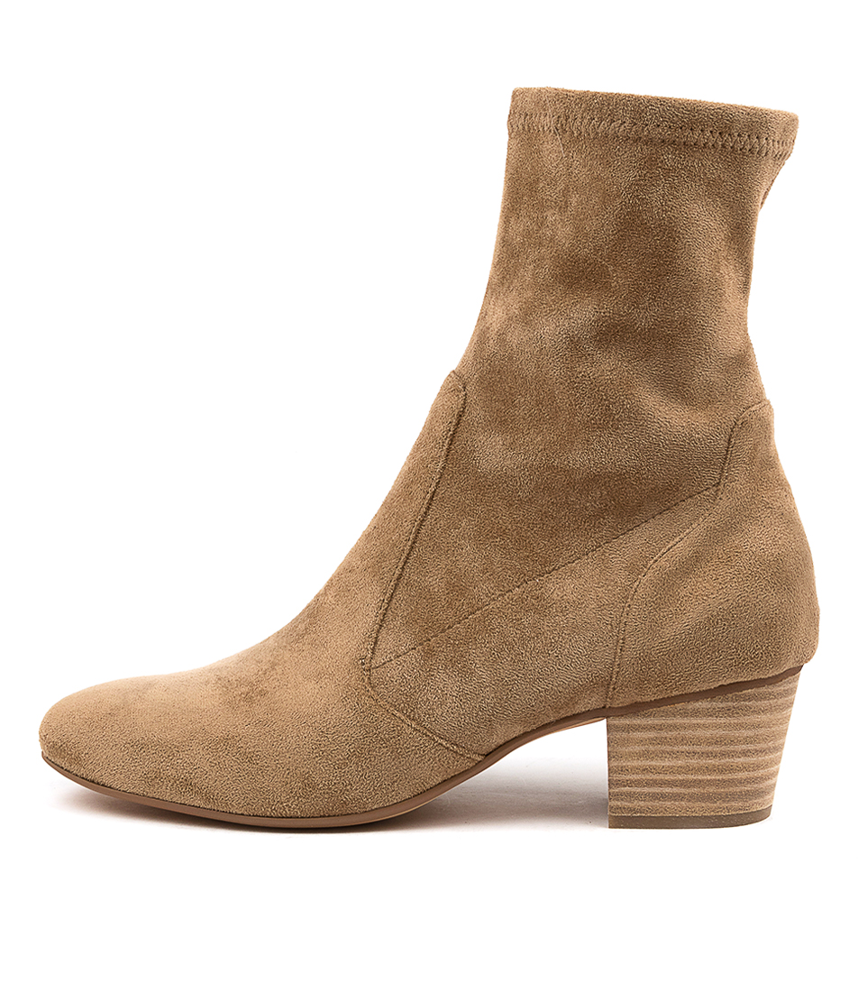 Buy Mollini Karmony Mo Lt Taupe Ankle Boots online with free shipping