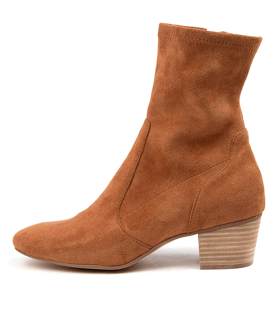 Buy Mollini Karmony Mo Dk Tan Ankle Boots online with free shipping