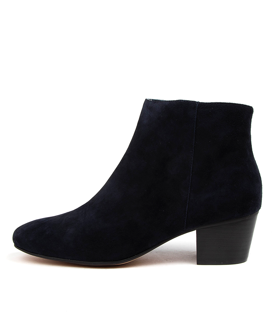 Buy Mollini Koldy Mo Navy Ankle Boots online with free shipping