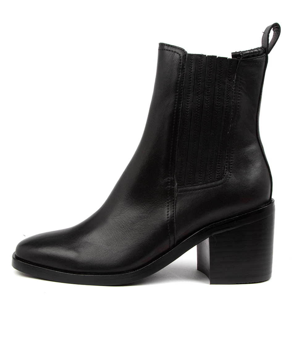 Buy Mollini Naydo Mo Black Heel Ankle Boots online with free shipping