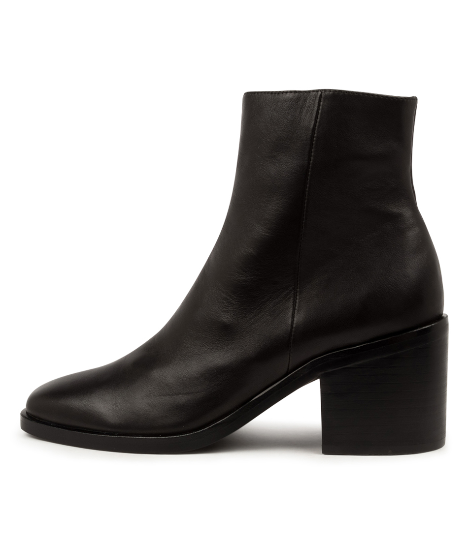 Buy Mollini Ninder Mo Black Heel Ankle Boots online with free shipping