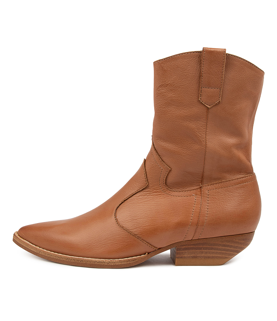 Buy Mollini Pawse Mo Tan Ankle Boots online with free shipping