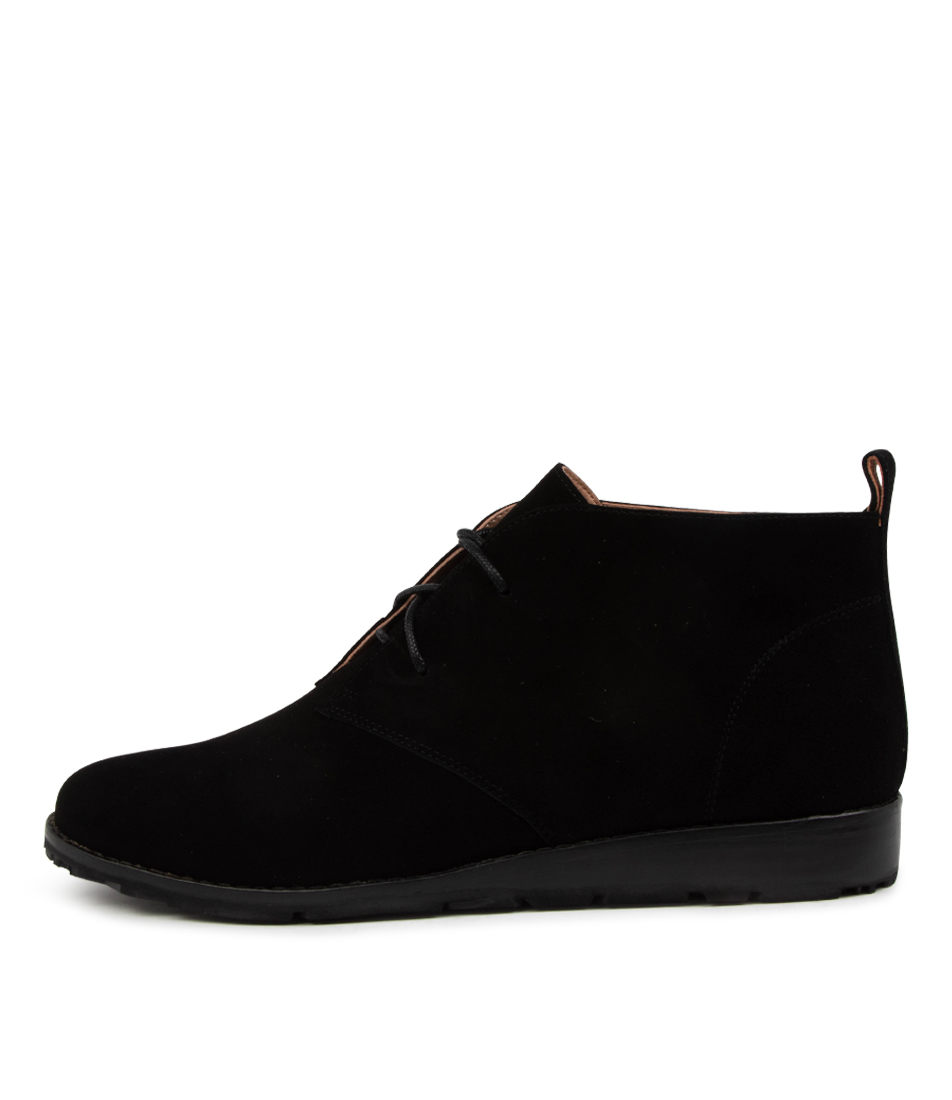 Buy Mollini Qasie Mo Black Sole Ankle Boots online with free shipping
