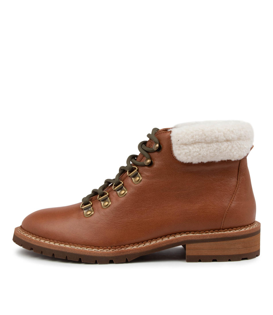 Buy Mollini Rever Mo Walnut Ankle Boots online with free shipping