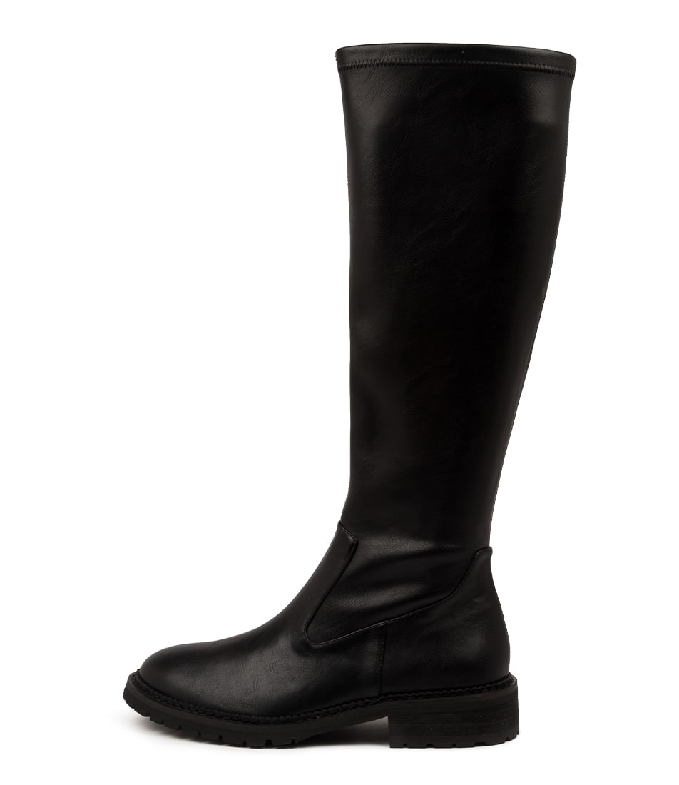 Buy Mollini Ronix Mo Black Sole Ankle Boots online with free shipping