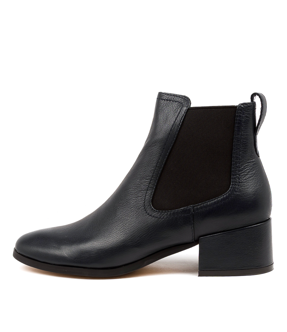 Buy Mollini Sissta Mo Navy Ankle Boots online with free shipping