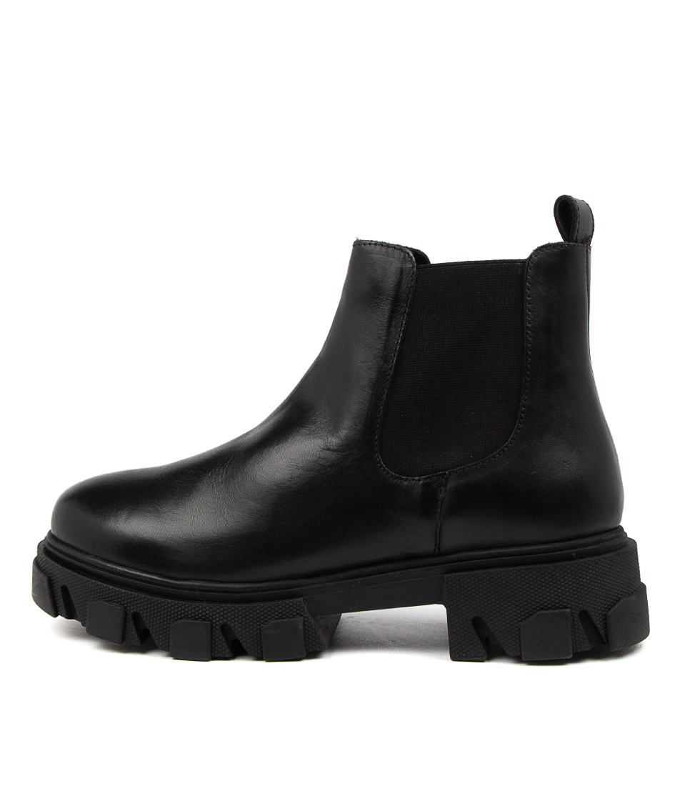 Buy Mollini Cress Mo Black Sole Ankle Boots online with free shipping