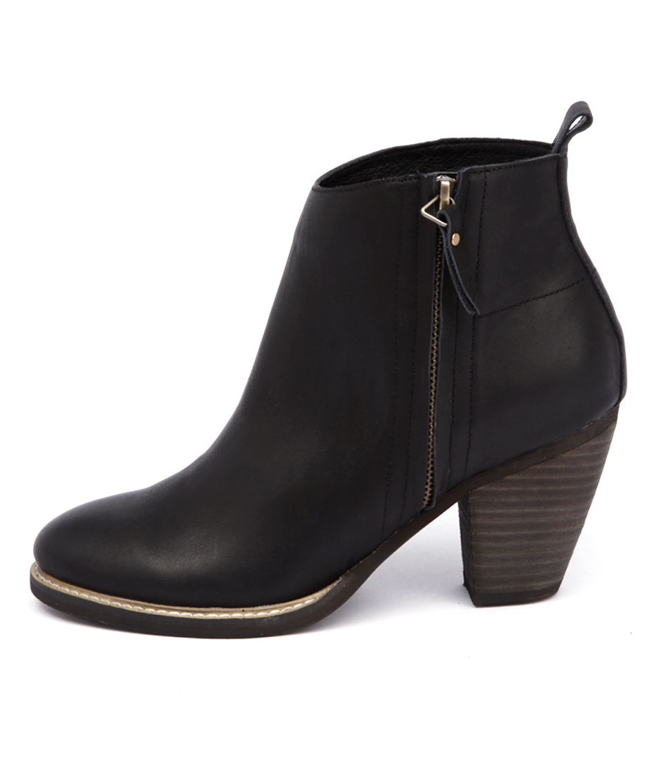 Mollini Matcher Black Casual Ankle Boots